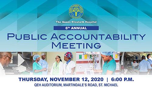 6th Annual Public Accountability Meeting