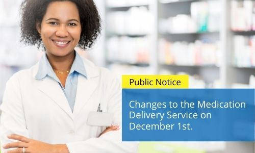Changes To The QEH Medication Delivery Service
