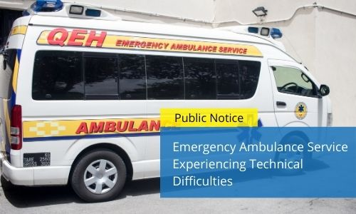 Emergency Ambulance Service Experiencing Technical Difficulties