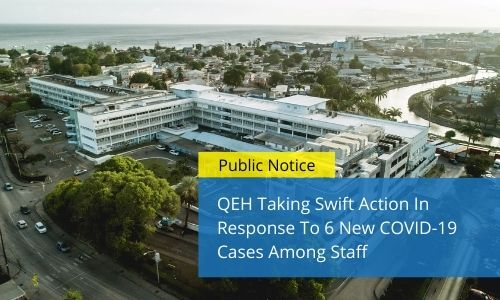 QEH Taking Swift Action In Response To 6 New COVID-19 Cases Among Staff