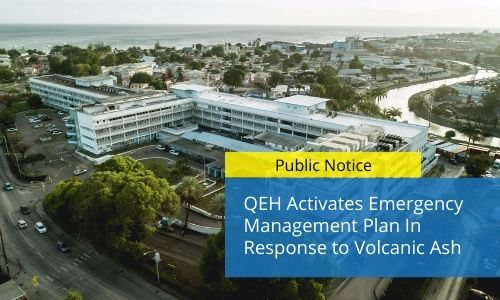QEH Activates Emergency Management Plan In Response To Volcanic Ash